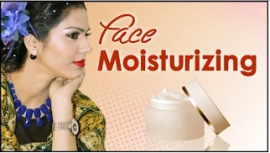 Face Preparation with Face Moisturizing