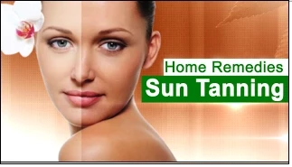Home Remedies for Sun Tanning